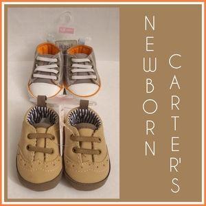 Newborn Carter's Baby Boy's Shoes